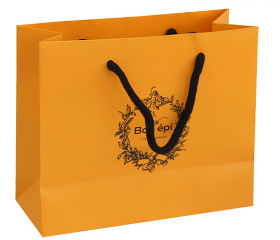 quality different shape design cosmetic paper bag, cosmetic ...