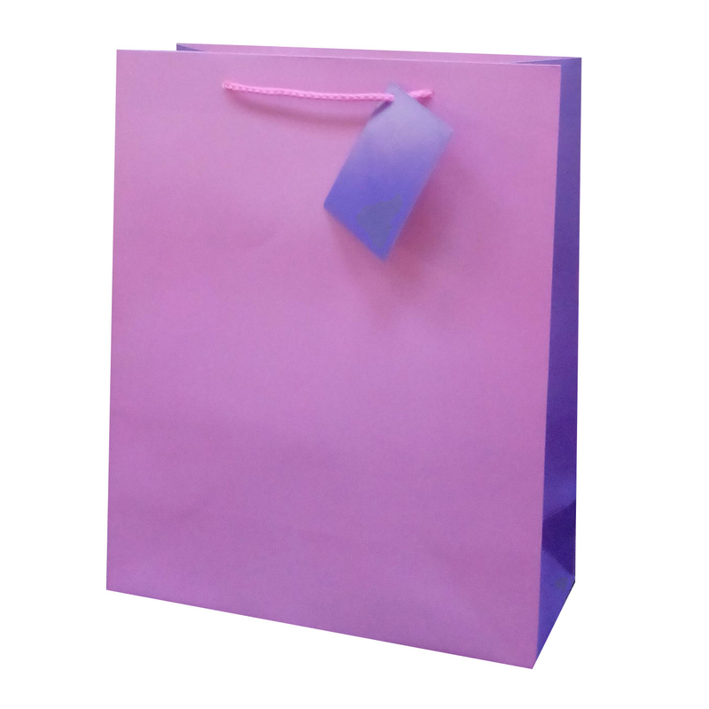 Matt Lamination Luxury Paper Bags for Wedding Gifts