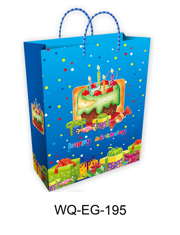 Happy Birthday Paper Gift Bags