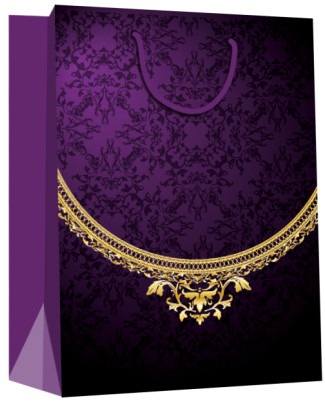 Jewelry Carry Paper Gift Bags for Jewelry Shops