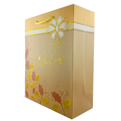 China Luxury Paper Gift Bags for Chirstmas, Party Bags distributor