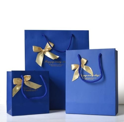 China Custom Luxury Bouquet Clothing Shopping Retail Black Paper Bags With Logo Print distributor