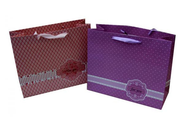 Cosmetics Paper Carrier Bags