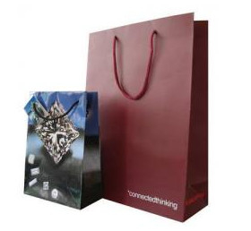 Custom Boutique Paper Carrier Bags, Paper Shopping Bags