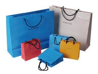 New products 2016  cosmetic boutique paper shopping bag